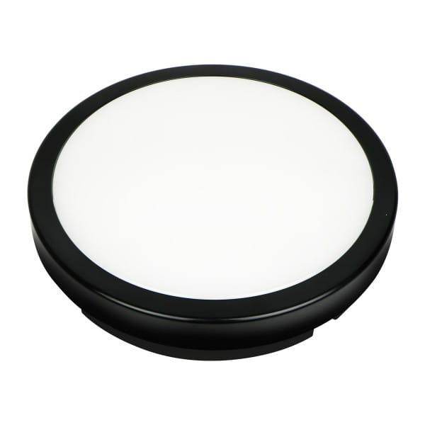 LED Deckenleuchte Schwarz 12W 960lm
