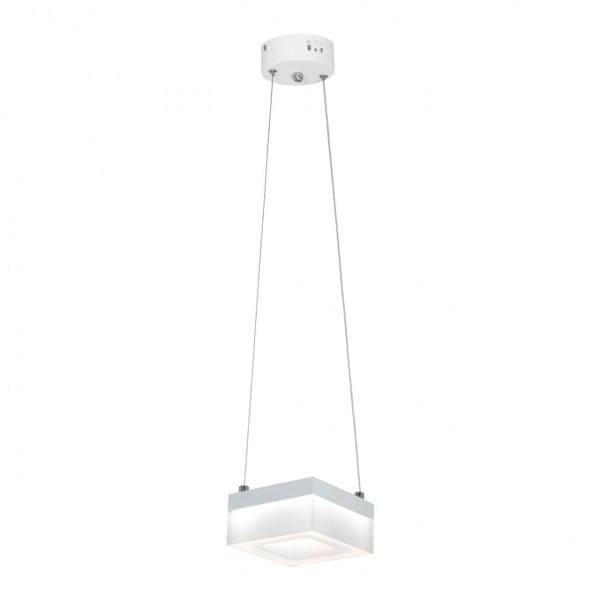 LED Pendelleuchte CUBO Weiß 12W 840lm
