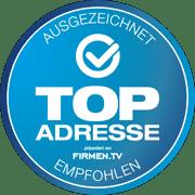 Top-Adresse – ausgezeichnet und empfohlen von FIRMEN.TV