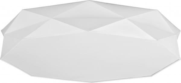 Deckenleuchte Stoff Weiß 86 cm