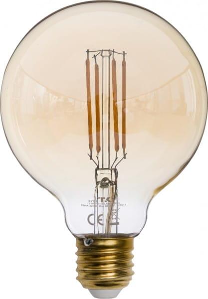 LED G95 LED-Leuchtmittel 1-flammig E27 6,5W
